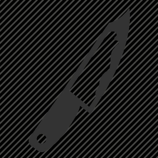 chopper, cleaver, danger, evidence, knife, murder, weapon icon