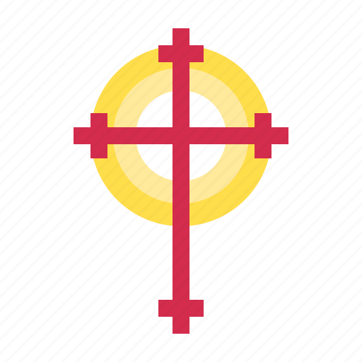 catholic, christ, christian, cross, protestant, sign, symbol, symbology icon