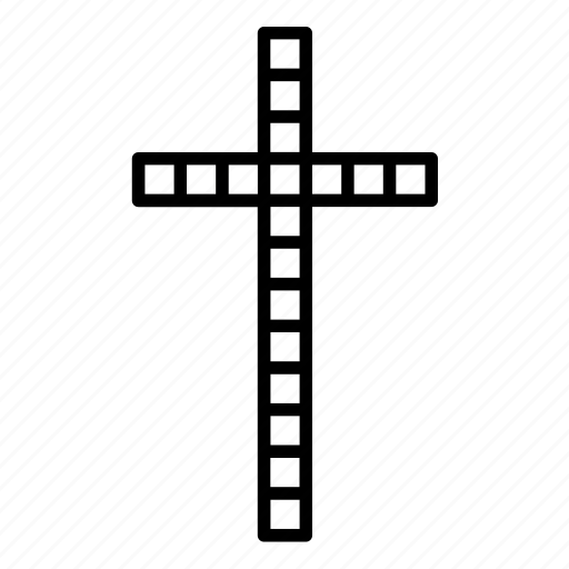 Abstract, catholic, christian, christian cross, christianity, cross, religion icon - Download on Iconfinder
