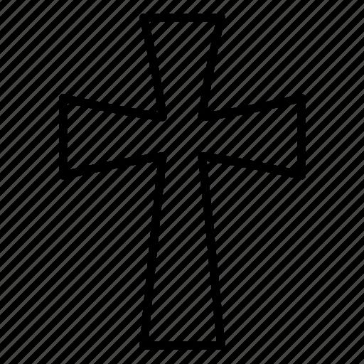 Catholic, christian, christian cross, christianity, cross, religion, religious icon - Download on Iconfinder