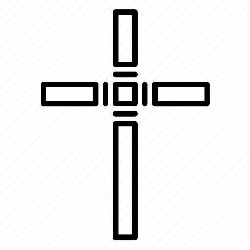 Abstract, catholic, christian cross, christianity, cross, religion, religious icon - Download on Iconfinder