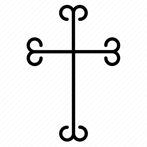abstract, catholic, christian cross, christianity, cross, orthodox, religion icon