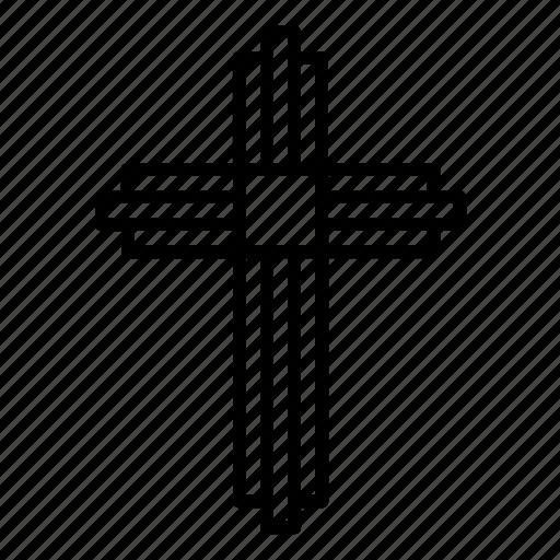 abstract, christian, christian cross, christianity, cross, orthodox, religion icon