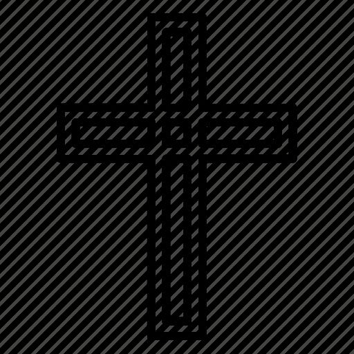 Catholic, christian cross, christianity, cross, orthodox, religion, religious icon - Download on Iconfinder