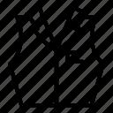croupier, thin, vector, vest, yul918 icon