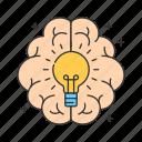 brain, innovation, business, creativity, idea, creative icon