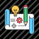 creative, crowdfunding, product, prototype icon