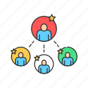 business, crowdfunding, group, people, team icon