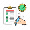 business, checklist, clipboard, document, test, testing icon