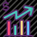 budget, chart, graph, graphs icon