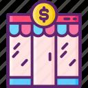 budget, market, primary icon