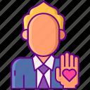honest, human, make, pledge icon