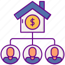 crowdfunding, estate, house, real