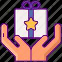 based, crowdfunding, hands, reward