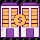 building, dollar, market, secondary