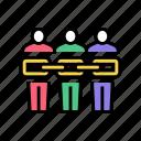 people, chain, crowdsoursing, crowdsourcing, business, internet