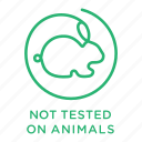 no animal testing, cruelty free, vegetarian, not tested on animals