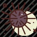animal, aquatic, arthropods, bomb, fish, ocean, sea icon