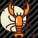 animal, aquatic, arthropods, lobser, ocean, sea icon