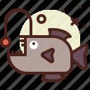 animal, aquatic, arthropods, ocean, piranha, sea icon
