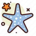animal, aquatic, arthropods, ocean, sea, star icon