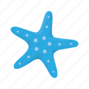 animal, corals, crustacean, patrick, sea stars, star, starfish icon