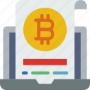 bitcoin, blockchain, crypto, currency, money, wallet icon