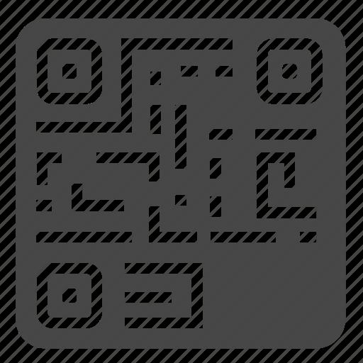 code, digital, generator, qr, scan icon