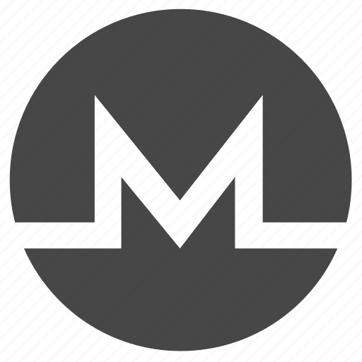 coin, crypto, cryptocurrency, digital, monero, trading, xmr icon
