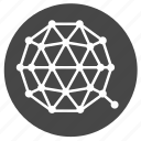 coin, crypto, cryptocurrency, digital, ico, qtum, trading icon