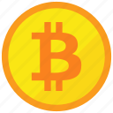 bitcoin, cryptocurrency, digital money icon