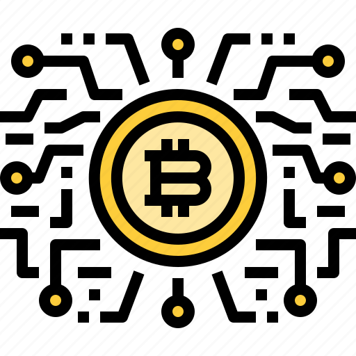 Bitcoin, coin, cryptocurrency, currency, digital, intelligence, technology icon - Download on Iconfinder