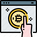 bitcoin, coin, cryptocurrency, currency, digital, web