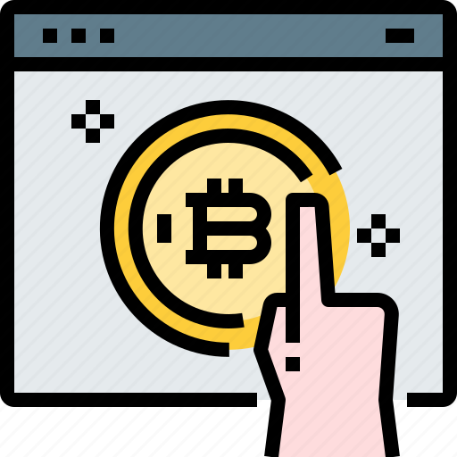 Bitcoin, coin, cryptocurrency, currency, digital, web icon - Download on Iconfinder
