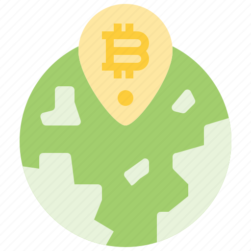 Bitcoin, coin, cryptocurrency, currency, digital, global, world icon - Download on Iconfinder