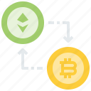 bitcoin, coin, cryptocurrency, currency, digital, exchange, finances, money icon