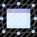 app, blockchain, dapp, decentralized, program icon