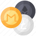 altcoin, coin, crypto, cryptocurrency, money