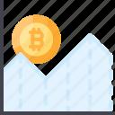 bitcoin, bpi, chart, crypto, index, price icon