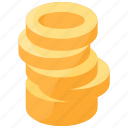 chip, coin, currency, money, token icon