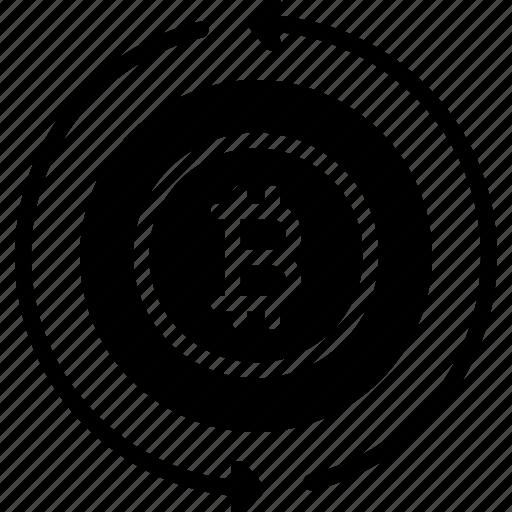 Bitcoin, cypto, exchange, money, transaction icon - Download on Iconfinder