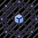 block, blockchain, crypto, decentralized, network