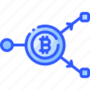bitcoin, coin, cryptocurrency, double, exchange, spending
