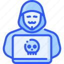 anonymous, hacker, person, security, virus icon