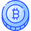 bitcoin, coin, crypto, cryptocurrency, money icon