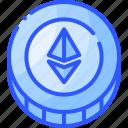 coin, crypto, eth, ethereum, mining