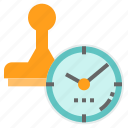 date, datestamp, stamp, time, timestamp icon