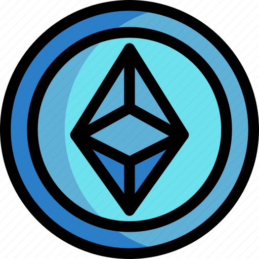 business, coin, cryptocurrency, digital, ethereum, money icon