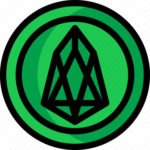 business, coin, cryptocurrency, digital, eos, money icon