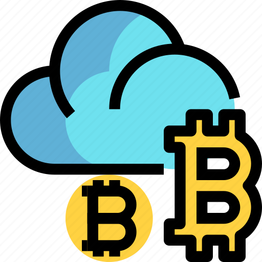 business, cloud, cryptocurrency, digital, money icon